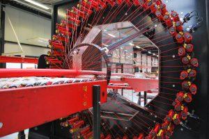 "alt=""braiding machine in production facility"""